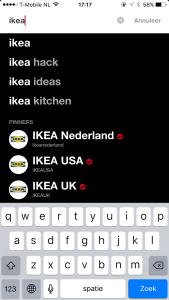 Zoeken IKEA