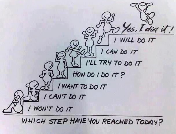 veranderen gaat in kleine stapjes